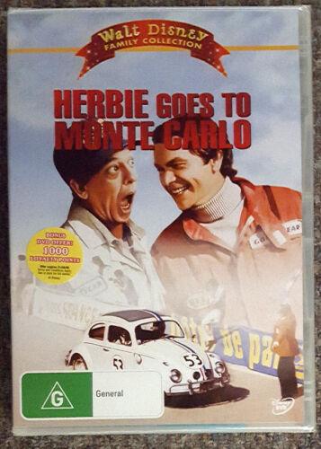 1 of 1 - Herbie Goes To Monte Carlo (Walt Disney) DVD **BRAND NEW / SEALED** (Region 4)