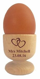 Personalised Egg Cup 110942 Any Name Amp Hearts