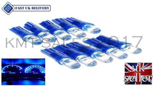 T5 286 LED ULTRA BLUE DASHBOARD LIGHT BULBS XENON 12V LAMP  DIALS WEDGE CA