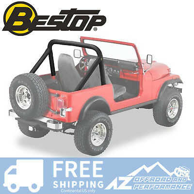 Bestop TrailMax 2 Sport Seat 76-06 Jeep CJ5 CJ7 Wrangler Charcoal Vinyl