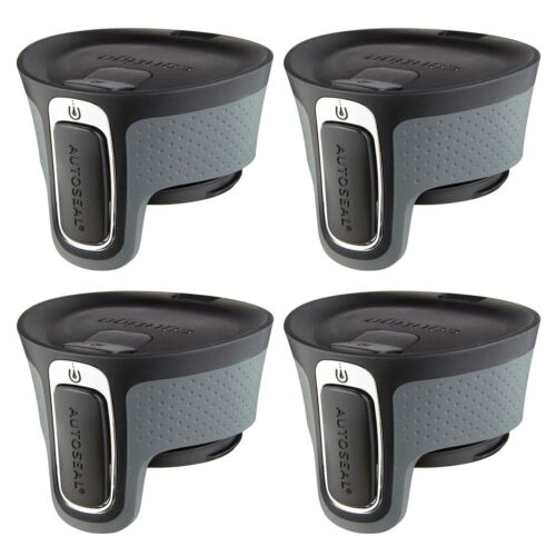 4-Pack Contigo AUTOSEAL West Loop Easy-Clean Travel Mug Replacement Lid Black
