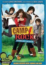 Camp Rock (Extended Rock Star Edition) DVD Joe Jonas,Demi Lovato,Nick Jonas,Kevi