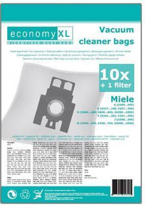 10 Staubsaugerbeutel Economy geeignet für Miele Classic C1 EcoLine Plus