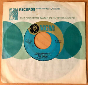 NORTHERN SOUL/ FUNK 45  THE EMBERS  Watch Out Girl / Far Away Places  MGM  RARE