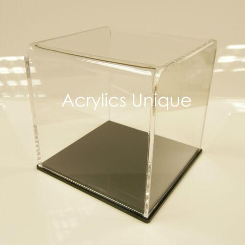 Acrylic display case perspex box protective case memorabilia collector lid