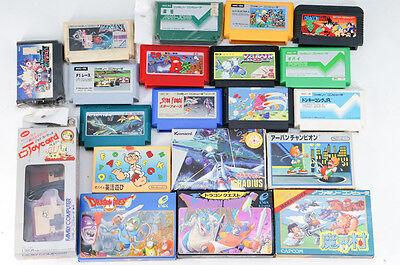 Wholesale! FamiCom Software & Joycard MK2 Super Mario etc Bundle 415k08