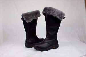cb5d7202128 Ugg Australia Womens Miko Tall Black Color Winter Snow Boot Size 9 ...