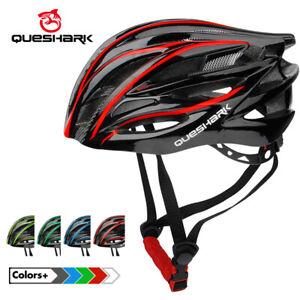 QUESHARK Cycling Helmet Women Men Mountain Bike Helmet Bicycle Safety Cap QE102