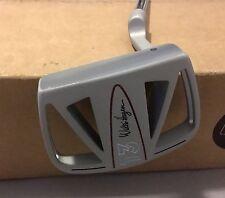 "Walter Hagen T3 Clam Cage 35"" Mallet Putter Steel Golf Club"