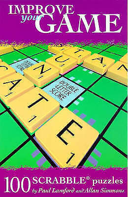 Very Good, 100 Scrabble Puzzles (Improve your game), Lamford, Paul, Book
