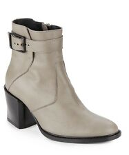 NIB $595 Helmut Lang Leather Ankle Boots 40 (10)