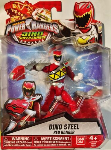 """Power Rangers Dino Super Charge ~ Red Ranger 5/"""""""