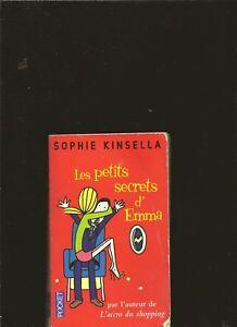 Les-petits-secrets-d-039-Emma-de-Sophie-Kinsella-Livre-d-039-occasion