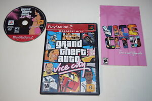 Grand Theft Auto Vice City Greatest Hits Playstation 2 PS2 Video Game Complete
