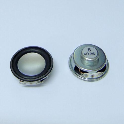 "2pcs 1.5/"" 2W 4ohm HIFI inside magnetic trumpet speaker s873"