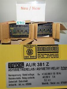 Bender-AUR381Z-Asymmetrie-Aur-381-Z-935068-Asymetry-Rela