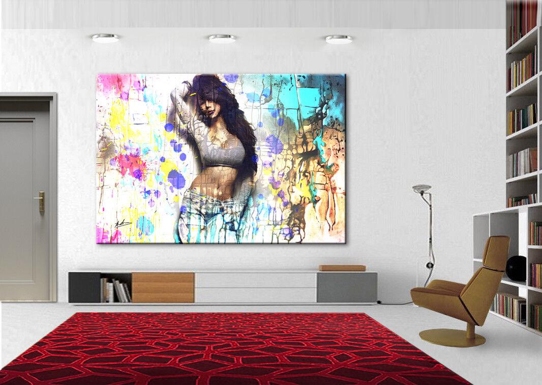 Acte érotique femme peintures peintures femme murales Images Sur Toile Art Modern Art pression XXL 2051 a 41c44b