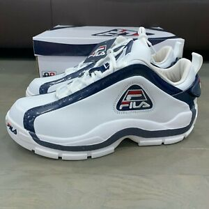 96 Grant Hill Low Shoes White Navy Red