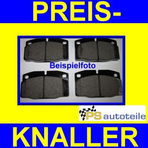 Satz Bremsbeläge 1.9D//SDI Bremsklötze vorne VW Caddy II 9K 1.4-1.6 Bremsbelag