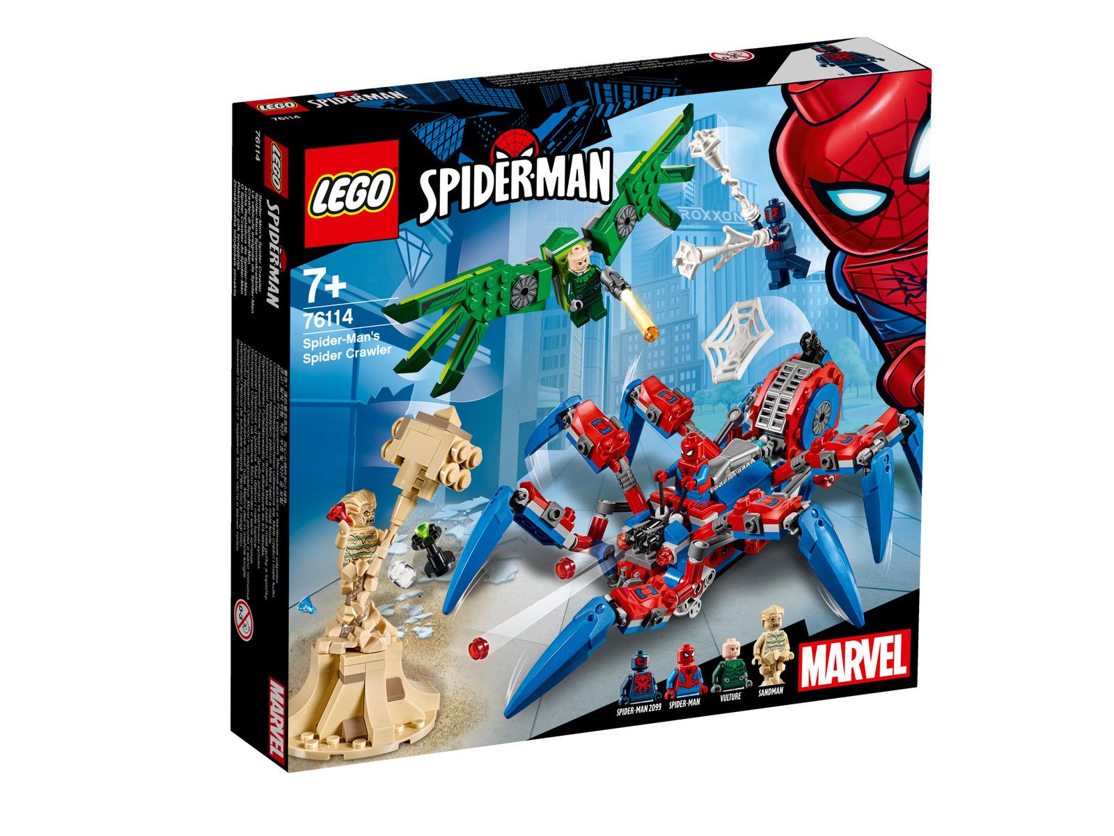 LEGO Marvel Super Heroes Spider-Mans Spinnenkrabbler (76114)