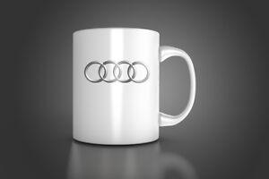 audi mug audi personalized mug audi coffee tea mug tt s4 s6 s8 mug