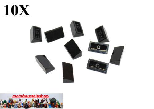 10X Lego® 85984 Dachsteine Glatt 30° 1 x 2 x 2//3 Slope Roof Schwarz Black NEU