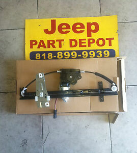 2001 2004 jeep grand cherokee new drivers side front for 2002 grand cherokee window regulator replacement