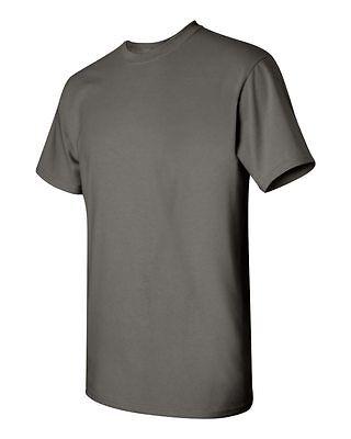 50 Wholesale Plain Gildan 50//50 DryBlend BLACK Adult T-Shirts Bulk Lot S M L XL