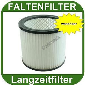 Filter passend Einhell TH-VC 1930 SA TE-VC 2230 SA Faltenfilter waschbar