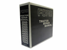 Ford 2000, 3000, 4000, 5000 7000 Tractor Service Manual Repair Shop Book NEW