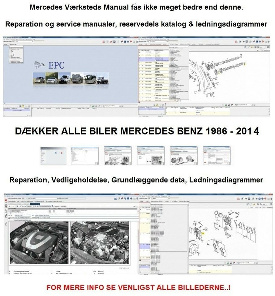 Mercedes, Reparations Service Manual