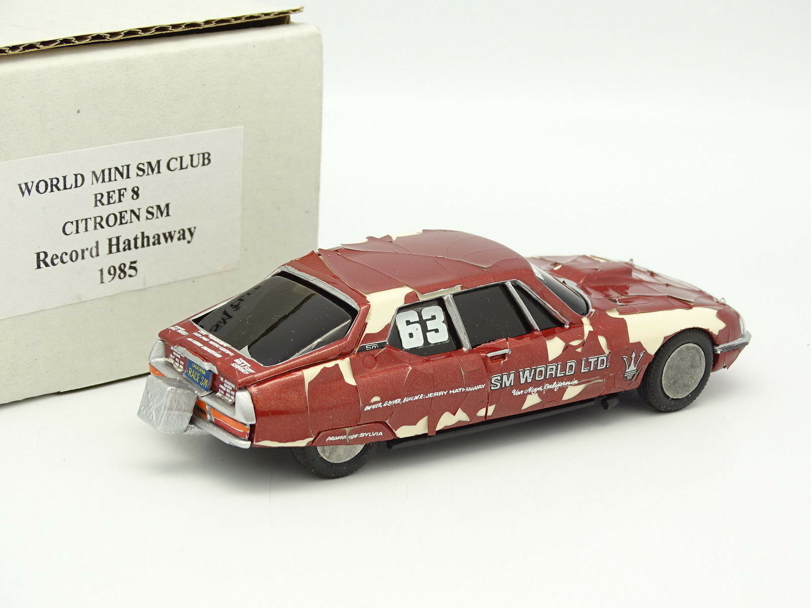 World Mini SM Club Kit Montado 1 1 1 43 - Citroen SM Record Hathaway 1985 a31c70