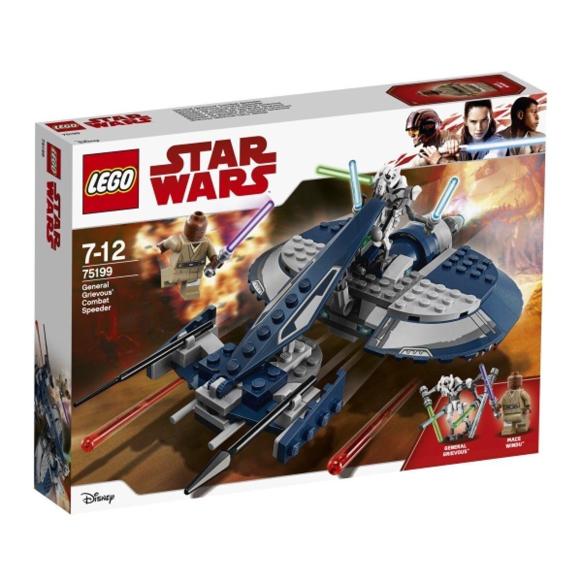 13-6-2) LEGO® Star Wars (75199) General Grievous Combat Speeder, 157 Teile