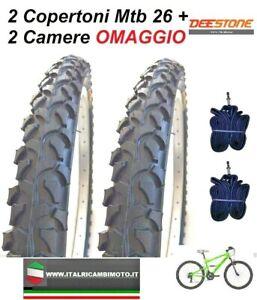 2-Copertoni-MTB-26-Bicicletta-Mountain-Bike-26x1-95-Gomme-Pneumatico-CICLO