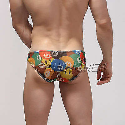 Low Brief Rise Underpants Muscle Mens Sportswear Y Front Briefs Shorts Underwear