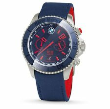 Original BMW Motorsport ICE Watch Armbanduhr Uhr Steel Chrono