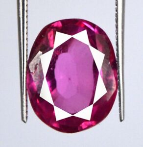 Padparadscha Pink Sapphire 9.15 Carat Oval Gemstone 100% Natural Certified L6230