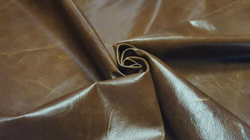 Leather Cowhide Vintage Light Brown Auto Upholstery Cowhides Crafts TS-1351