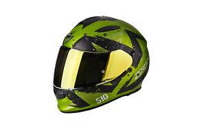 casque-casco-helmet-SCORPION-EXO-510-AIR-MARCUS-GREEN-taille-M-57-58