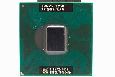 Intel Core Duo T2350 1.86Ghz 2Mb 533 SL9JK Socket M CPU LF80539GE0362ME
