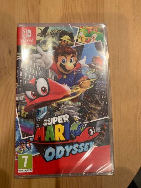 Super Mario Odyssey (Switch, 2017)