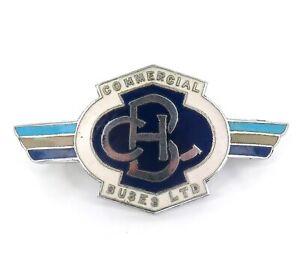 c1950s-1960s-LARGISH-COMMERCIAL-BUSES-LTD-ENAMEL-BADGE