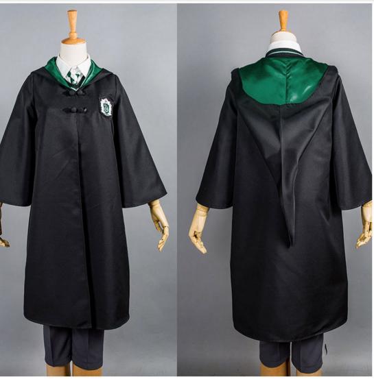 Cosplay Slytherin School Uniform Draco Malfoy Costume Robe Full Set | eBay