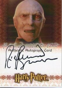 Richard Bremmer ++ Autogramm ++ Harry Potter ++ Voldemort ...