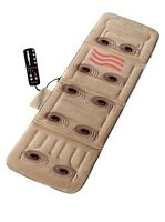 Massage Mat Pad Body Heated Relief Full Massager Motor Back Vibrating Homedics