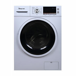 Magic Chef Mcscwd20w3 Front Load Washer Dryer Combo White