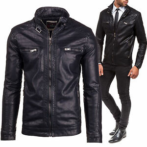 Bolf 278 Top 4d4 Sweatshirt Jacke Sweatjacke Herrenjacke Extreme Kunstleder wgfSwq