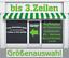 3-Zeilen-Aufkleber-Beschriftung-50-170cm-Werbung-Sticker-Werbebeschriftung-KfZ Indexbild 4