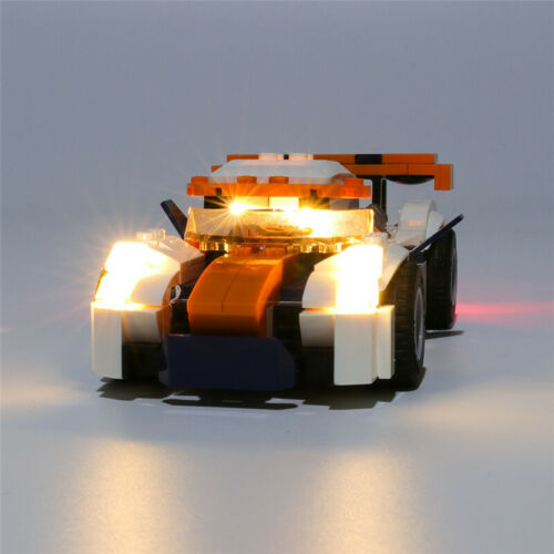 LED Licht Set Für 31089 LEGO Creator Sunset Track Racer Kit mit Anleitung