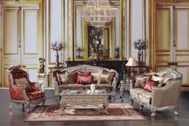 Elegant Luxury Living Room Set Homey Design Hd 1880 For Sale Online Ebay